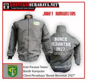 """Desain Jaket Client Persebaya """"Bonek Berontak 1927"""""""