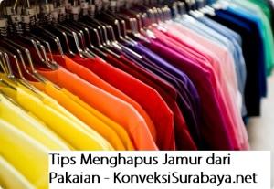Cara Menghilangkan Noda Jamur dari Pakaian Anda