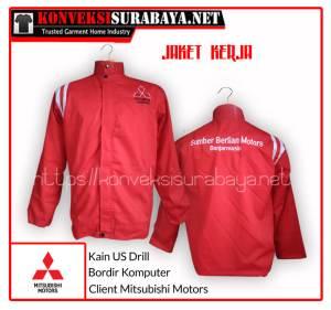 Desain Jaket Client Mitsubishi Motors