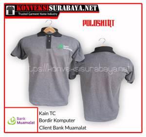 Desain Poloshirt Client Bank Muamalat