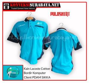 Desain Poloshirt Client PDAM SIKKA