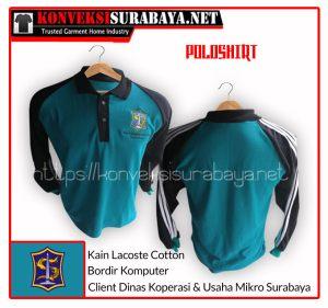 Desain Poloshirt Client Dinas Koperasi & Usaha Mikro Surabaya