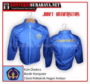 Desain Jaket Client Politeknik Negeri Ambon