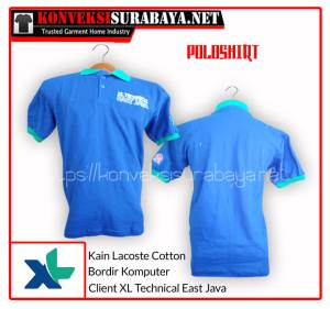 Desain Poloshirt Client XL Technical East Java