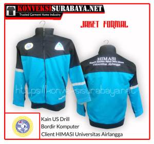 Desain Jaket Client HIMASI Universitas Airlangga