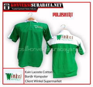 Desain Poloshirt Client Winkel Supermarket