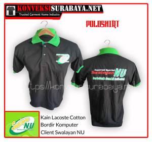 Desain Poloshirt Client Swalayan NU