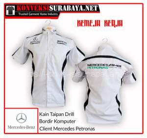 Desain Kemeja Client Mercedes Petronas