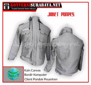 Desain Jaket Client Pondok Pesantren