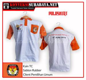 Konveksi Kaos Polo Shirt Murah Berkualitas di Surabaya