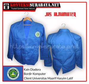 Pesan Grosir Jas Almamater Universitas Murah Surabaya