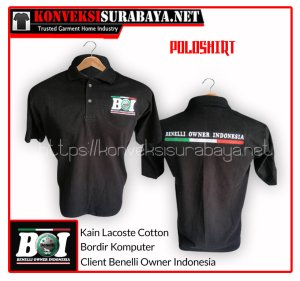 Desain Poloshirt Client Benelli Owner Indonesia
