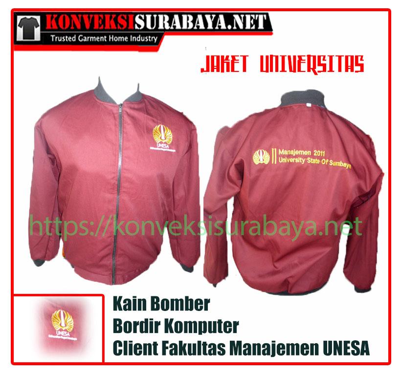 Konveksi Jaket Bomber di Surabaya